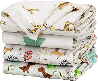 Baby Swaddle Blanket Upsimples Unisex Swaddle Wrap Soft Silky Bamboo Muslin Swaddle..