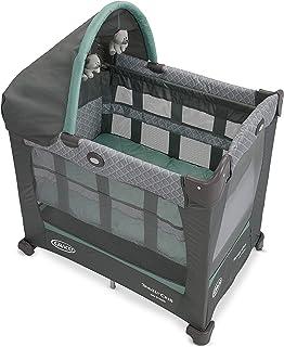 Graco Travel Lite Crib   Travel Crib Converts from Bassinet to Playard, Manor
