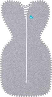 Love To Dream Swaddle UP, Gray, Small, 8-13 lbs., Dramatically Better Sleep, Allow Baby..