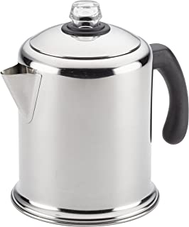 Farberware 47053 Classic Stainless Steel Yosemite 12-Cup Coffee Percolator, 12 Cup Coffee..