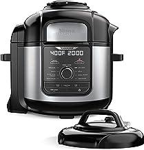 Ninja FD401 Foodi 8-Quart 9-in-1 Deluxe XL Pressure Cooker, Broil, Dehydrate, Slow Cook,..