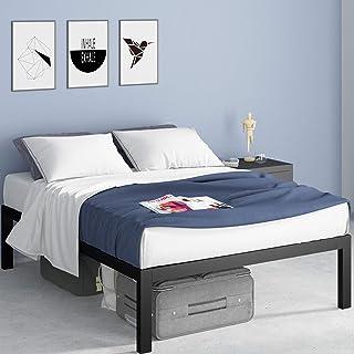 Zinus Lorrick Quick Snap TM 18 Inch Platform Bed Frame / Mattress Foundation / With Less..