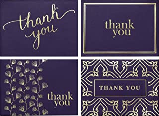 100 Thank You Cards Bulk – Thank You Notes – Blank Note Cards with Envelopes..