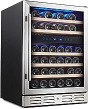 Kalamera 24'' Wine refrigerator 46 Bottle Dual Zone Built-in or Freestanding..