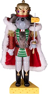 Clever Creations Traditional Wooden Collectible Mouse King Christmas Nutcracker | Festive..