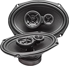 "Skar Audio SK69 6"" x 9"" 200W 3-Way Full Range Performance Coaxial Car Speakers, Pair"