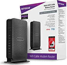 NETGEAR N600 (8×4) WiFi DOCSIS 3.0 Cable Modem Router (C3700) Certified for Xfinity..