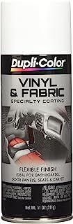 Dupli-Color EHVP10500 Gloss White High Performance Vinyl and Fabric Spray – 11 oz.