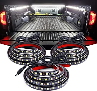 Nilight TR-09 3PCS 60 Bed Light Strip 270 LED with On/Off Switch Blade Fuse Splitter..