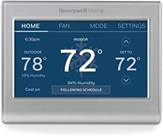 Honeywell Home RTH9585WF1004 Wi-Fi Smart Color Thermostat, 7 Day Programmable, Touch..