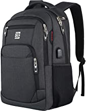 Laptop Backpack,Business Travel Anti Theft Slim Durable Laptops Backpack with USB..
