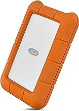 LaCie Rugged Thunderbolt USB-C 2TB External Hard Drive Portable HDD – USB 3.0..