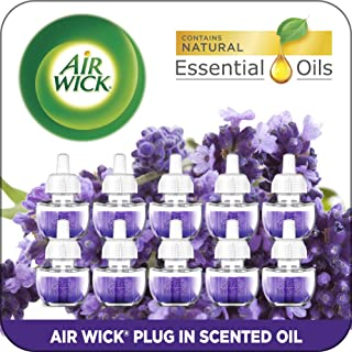 Air Wick Plug in Scented Oil Refills, Lavender and Chamomile, Eco Friendly, Essential..