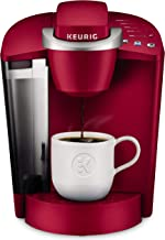 Keurig K-Classic Coffee Maker, Single Serve K-Cup Pod Coffee Brewer, 6 to 10 oz. Brew Sizes, Rhubarb