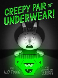 Not So Scary Halloween Books for Kids - Creepy Pair of Underwear