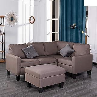 Amazon Com Living Room Furniture Sets 5 Pieces Living Room Sets Living Room Furniture Home Kitchen