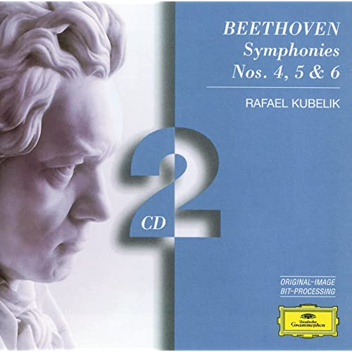 Beethoven: Symphonies Nos.4, 5 & 6 de Israel Philharmonic Orchestra & Boston Symphony Orchestra & Orchestre de Paris & Rafael Kubelik sur Amazon Music - Amazon.fr