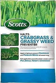 Scotts Halts Crabgrass & Grassy Weed Preventer – Crabgrass Preventer, Pre..