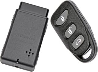 APDTY 133775 Replacement Keyless Entry Remote Key Fob With Auto Programmer Fits 2006-2014..