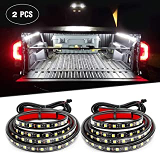 Nilight 2PCS 60 Inch 180 LEDs Bed Strip Kit with Waterproof on/Off Switch Blade Fuse..