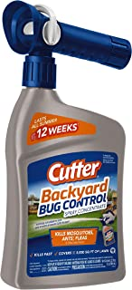 Cutter Backyard Bug Control Spray Concentrate, 32-Ounce, 6-Pack