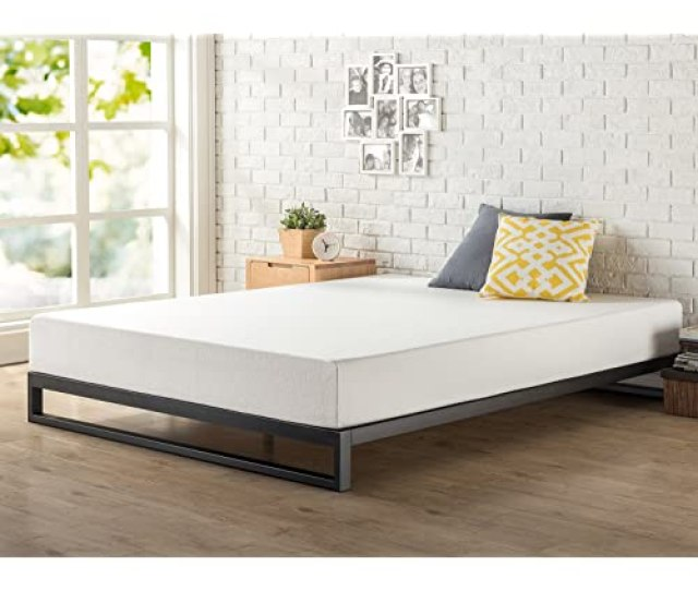 Zinus 7 Inch Heavy Duty Low Profile Platforma Bed Frame Mattress Foundation Boxspring Optional