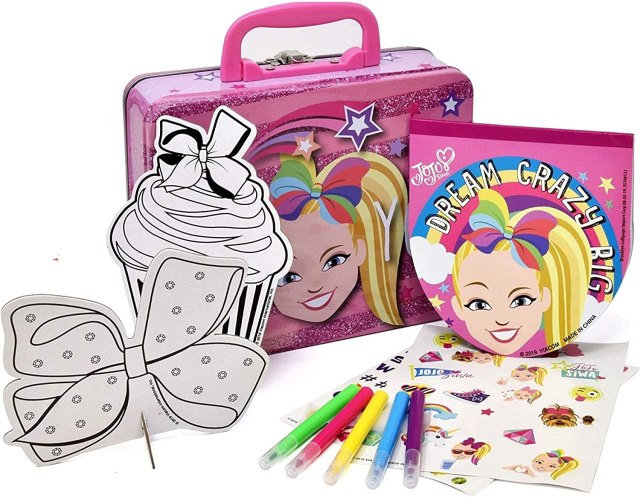 Buy Jojo Siwa Coloring and Activity Tin Box, Includes Markers