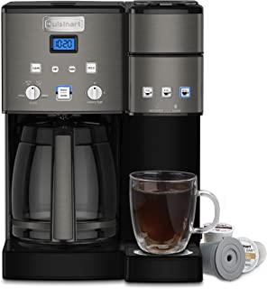 Cuisinart SS-15BKS Coffee Center Maker, 12-Cup, Black