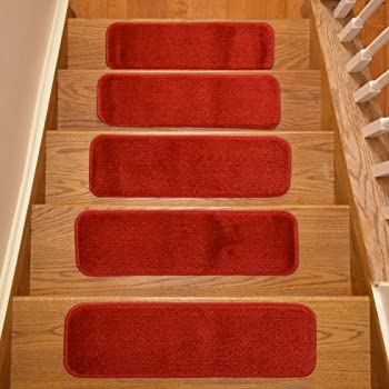 Stair Tread Treads Indoor 7 Inch X 24 Inch Machine Washable Skid | 7 Inch Carpet Stair Treads | Indoor Outdoor | Non Slip | Slip Resistant | Rug Styles | Tread Covers