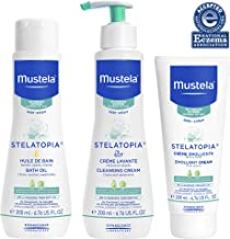 Mustela Bath Time Gift Set, Baby Skin Care, Available for Normal, Dry, Sensitive, and..