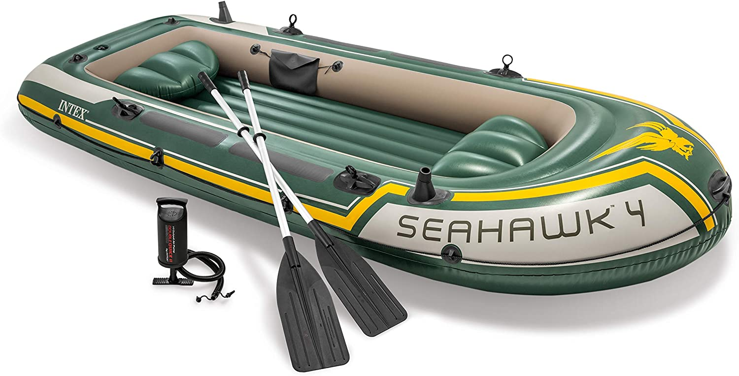 Intex Seahawk Inflatable Boat review