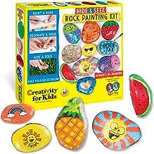 Creativity for Kids Hide & Seek Rock Painting Kit – Arts & Crafts For Kids..