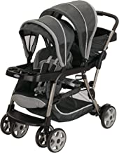 Graco Ready2Grow LX Stroller | 12 Riding Options | Accepts 2 Graco SnugRide Infant Car..