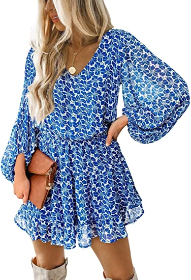 dark blue pattern dress