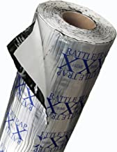 FatMat Self-Adhesive Rattletrap Sound Deadener Bulk Pack with Install Kit – 50 Sq..