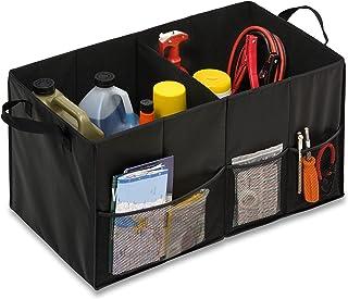 Honey-Can-Do Folding Car Trunk Organizer, Black