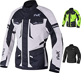 Adventure/Touring Motorcycle Jacket For Men Textile Motorbike CE Armored Waterproof..