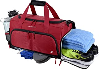 Ultimate Gym Bag 2.0: The Durable Crowdsource Designed Duffel Bag with 10 Optimal..
