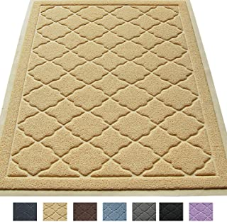"Premium Large Cat Litter Mat 35"" x 23"", Traps Messes, Easy Clean, Durable,.."