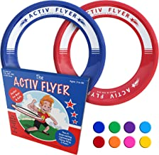 Activ Life Kid's Flying Rings [2 Pack] Fly Straight & Don't Hurt – 80%..