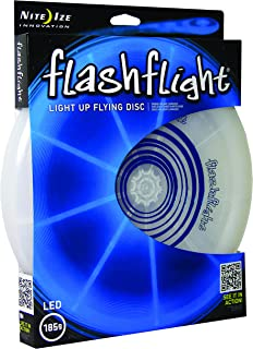 Flashflight LED Light Up Flying Disc, Glow in The Dark for Night Games