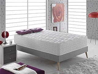 Bellavista Home Colchón Palma 30 cm de Grosor, 135x190x30 Viscoelastico & Latex, Confort de Hote...