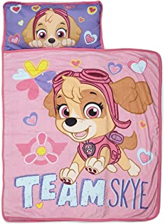 Paw Patrol Team Skye Nap Mat Set – Includes Pillow and Fleece Blanket – Great for..