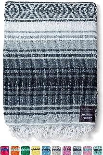 Mexican Blanket, Falsa Blanket | Authentic Hand Woven Blanket, Serape, Yoga Blanket |..