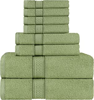 Utopia Towels Towel Set, 2 Bath Towels, 2 Hand Towels, and 4 Washcloths, 600 GSM Ring..