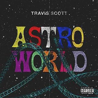 Cathy Dasr Travis Scott – Astroworld Poster,Unframed 20×20 Inches Art Poster Print