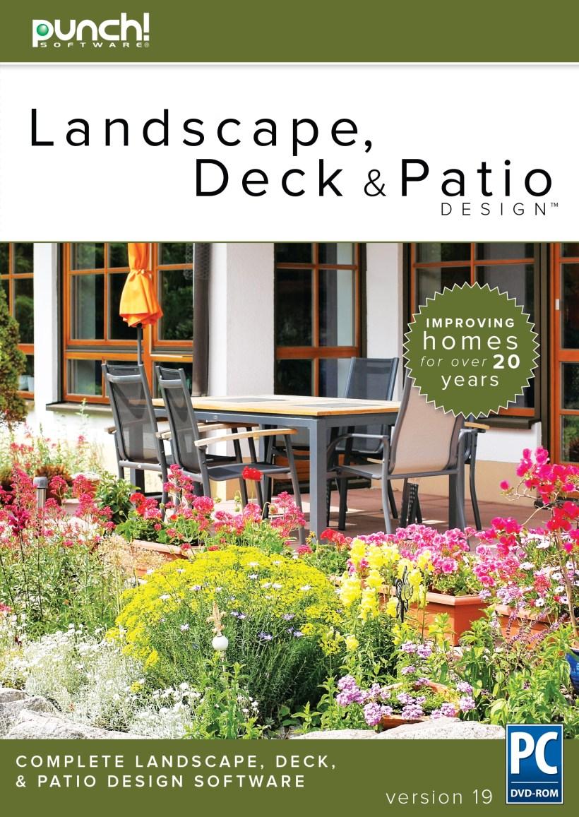 Punch! Landscape, Deck and Patio Design v19 for Windows PC [Download]