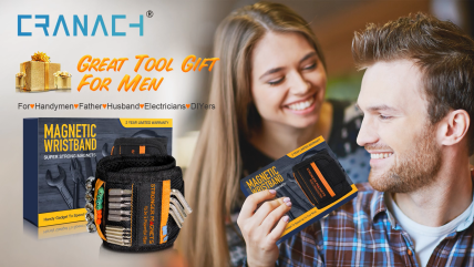 Tools-For-Men-Magnetic-Wristband-15-Upgrade-Super-Strong-Magnets-Good-Dad-Gift-Unique-Gifts-For-Men-Magnetic-Gadget-for-Man-Gifts-Wrist-Tool-Holder-for-Holding-Screws-Nails-Drill-Bits