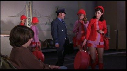 Quase Famosos comissária de voo