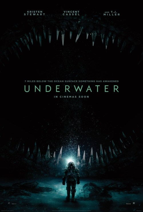 Image result for underwater movie poster 2020